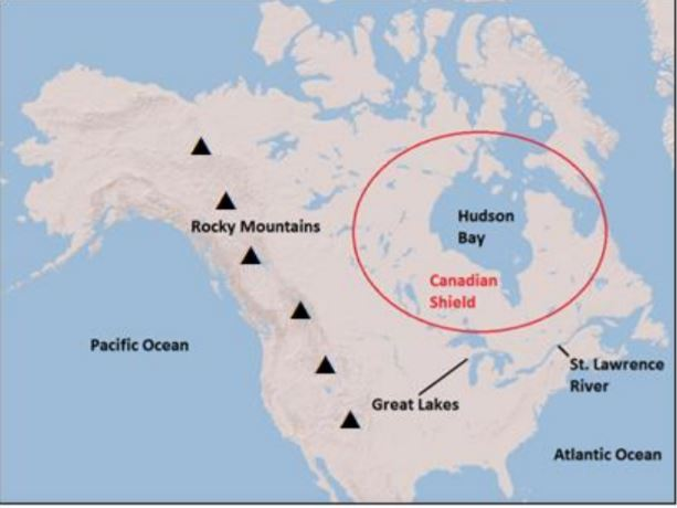 Map Of Canada 5 Great Lakes.Upcoming Due Dates Ms Delhey S Class